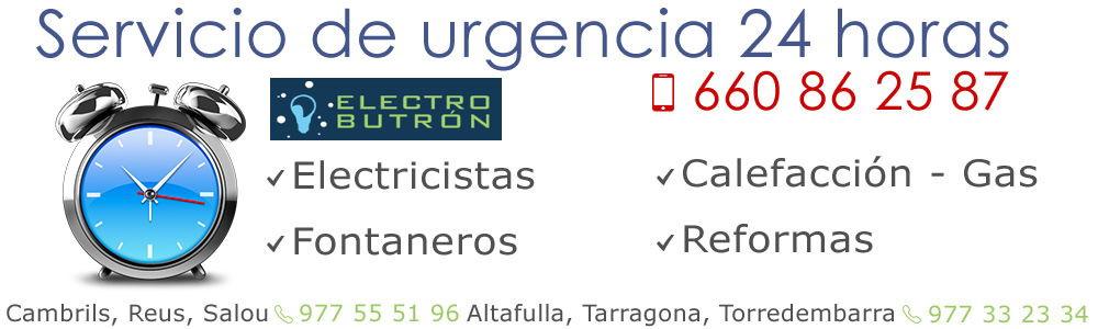 Servicio 24hs ElectroButron Tarragona Salou-web